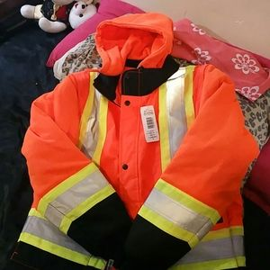 Work king coat